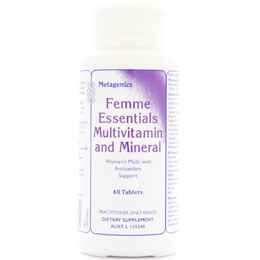 Femme Essentials Multivitamin and Mineral – 60 Tablets