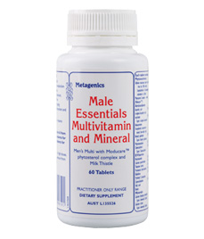 Male Essentials Multivitamin and Mineral - 60 TabletsMale Essentials Multivitamin and Mineral - 60 Tablets